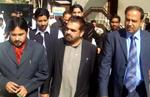 وزیر اطلاعات آزاد کشمیر کا کالج آف شریعہ کا دورہ