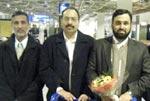 منہاج یونیورسٹی کے سکالر علامہ محمد اقبال فانی کا (فرینکفرٹ) جرمنی پہنچنے پر شاندار استقبال