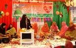 منہاج القرآن ویمن لیگ میرپور آزاد کشمیر کی محفل میلاد