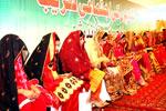 25 شادیوں کی اجتماعی تقریب 24 اپریل کو ہوگی