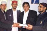 مسلم لیگ ن کے رہنما محمد حنیف عباسی نے منہاج القرآن سنٹر سارسل فرانس کا وزٹ