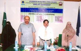 Minhaj Education Society & University of Agriculture Faisalabad jointly hold workshop on Phonetics & Pronunciation