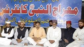 Monthly Spiritual Gathering & Shab-e-Miraaj 2011