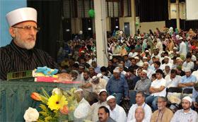 منہاج القرآن انٹرنیشنل نیوجرسی، امریکہ کے زیراہتمام عظیم الشان میلاد مصطفیٰ کانفرنس