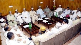 صوبائی ایگزیکٹو کونسل پنجاب کا ماہانہ اجلاس