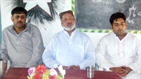 مصطفوی ویلفیئر سوسائٹی بھائی خان کے زیراہتمام ورکرز کنونشن