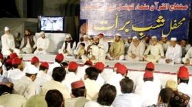 منہاج القرآن علماء کونسل کے زیراہتمام شب برات کا سالانہ اجتماع 2011