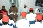 پیر سید بنیامین شاہ ہاشمی کی تحریک منہاج القرآن کے مرکزی سیکرٹریٹ آمد