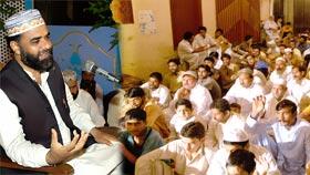 مصطفوی میلاد سوسائٹی بادامی باغ لاہور کے زیراہتمام محفل نعت