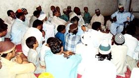 رانا محمد ظاہر ناظم تحریک منہاج القرآن لودہراں کے گھر پر عقیقے کی تقریب