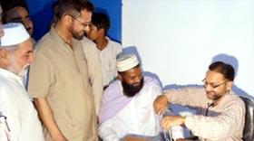 راوی ٹاؤن لاہور میں منہاج فری پولی کلینک کا افتتاح