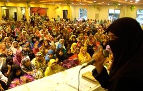 منہاج القرآن ویمن لیگ واہگہ ٹاؤن کے زیراہتمام دروس عرفان القرآن