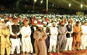 تحریک منہاج القرآن کے شہر اعتکاف 2011ء کا چوتھا دن