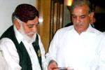ڈاکٹر خواجہ محمد اشرف کی وزیر اعلیٰ پنجاب میاں شہباز شریف سے ملاقات