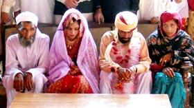 منہاج ویلفیئر فاؤنڈیشن کے زیراہتمام سید والہ میں 2 اجتماعی شادیوں کی تقریب