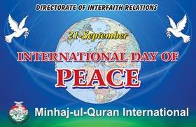 Shaykh-ul-Islam's message on 'World Day of Peace' 2011