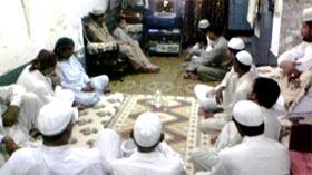 تحریک منہاج القرآن ہارون آباد کے زیراہتمام محفل حلقات درود و سلام