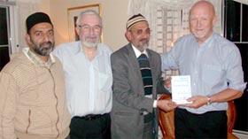 G.M. Malik meets Pastor Brekke and Arnold Kristoffersen