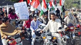 کھوئیرٹہ آزاد کشمیر میں مصطفوی سٹوڈنٹس موومنٹ کے زیراہتمام بیداری شعور ریلی کا انعقاد