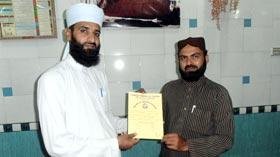 فیصل آباد میں عرفان القرآن کورس کی تقریب تقسیم اسناد