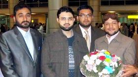 صاحبزادہ حسن محی الدین قادری فریضہ حج کے بعد مصر واپس پہنچ گئے