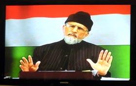 شیخ الاسلام کا موجودہ انتخابی نظام کے خلاف ملک گیر تحریک کا اعلان