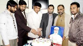 منہاج القرآن یوتھ لیگ کے23 یوم تاسیس پر ضلعی سیکرٹریٹ راولپنڈی میں ایک پروقار تقریب