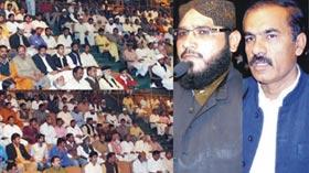تحریک منہاج القرآن فیصل آباد کے زیراہتمام پیغام حسین رضی اللہ عنہ کانفرنس