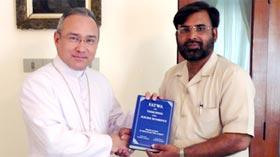 Sohail Raza visits Vatican City