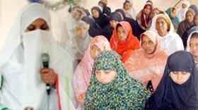 منہاج القرآن ویمن لیگ دولتالہ حلقہ پی پی 4 کے زیراہتمام سیدہ زینب رضی اللہ عنہا کانفرنس