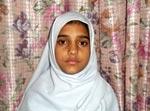 لائف ممبر تحریک منہاج القرآن حافظہ تحریم زہرہ کی صوبائی سطح پر تقریری مقابلے میں پہلی پوزیشن