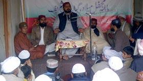 تحریک منہاج القرآن تحصیل شکرگڑھ کے زیراہتمام رنگڑا میں ماہانہ گیارہویں شریف