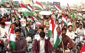 تحریک منہاج القرآن فتح پور (لیہ) کے زیراہتمام میلاد مارچ