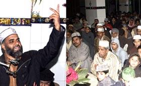 تحریک منہاج القرآن لاہور کینٹ، النور ٹاؤن کے زیراہتمام محفل میلاد