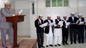 بزم منہاج کے عہدیداران کی تقریب حلف برادری
