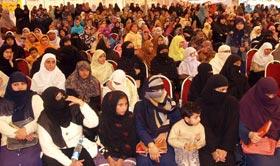 منہاج القرآن ویمن لیگ ملتان کے زیراہتمام سیدہ زینب کانفرنس