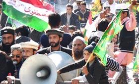 تحریک منہاج القرآن آزاد کشمیر کھوئیرٹہ کے زیراہتمام میلاد ریلی
