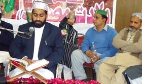 تحریک منہاج القرآن شرقپور شریف کے زیراہتمام 50 واں درس عرفان القرآن بسلسلہ میلاد النبی (ص)