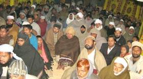 تحریک منہاج القرآن شاہکوٹ کے زیراہتمام ماہانہ درس حدیث کی 35 ویں نشست