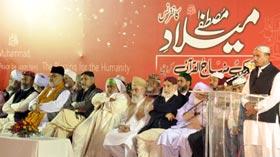 تحریک منہاج القرآن کراچی کے زیراہتمام میلاد مصطفیٰ (ص) کانفرنس 2012ء