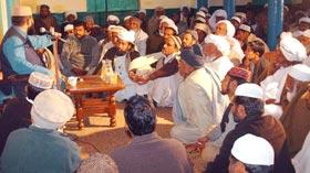 تحریک منہاج القرآن ٹھٹہ خورد یونین کونسل سید کسراں کے زیراہتمام محفل میلاد