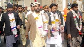 راجن پور میں تحریک منہاج القرآن کے تحت میلاد مارچ اور میلاد کانفرنس