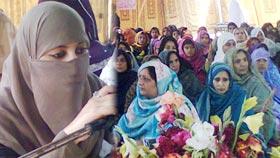 منہاج القرآن ویمن لیگ پتوکی کے زیراہتمام محفل میلاد