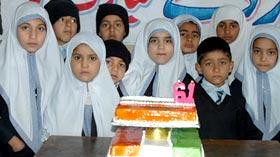 منہاج ماڈل سکول میرپور آزادکشمیر کے زیراہتمام قائد ڈے کی تقریب