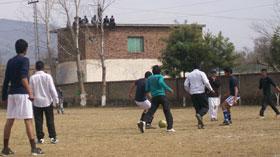 MSM کھوئیرٹہ کے زیراہتمام شیخ الاسلام کی سالگرہ کے موقع پر فٹ بال میچ