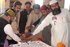 سیدہ شاہجہاں منہاج القرآن اسلامک سنٹر کے زیراہتمام شیخ الاسلام کی سالگرہ کی تقریب