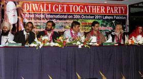 منہاج القرآن انٹر فیتھ اینڈ ریلشنز کے ڈائریکٹر سہیل احمد رضا کی دیوالی میں شرکت