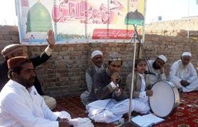 تحریک منہاج القرآن چوک اعظم (لیہ) کے زیراہتمام محفل میلاد اور قائد ڈے کی تقریب