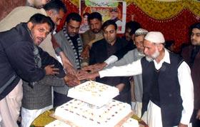 سانگلہ ہل میں شیخ الاسلام کی سالگرہ کی تقریب
