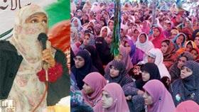 منہاج القرآن ویمن لیگ علی پور چٹھہ کے زیراہتمام محفل میلاد